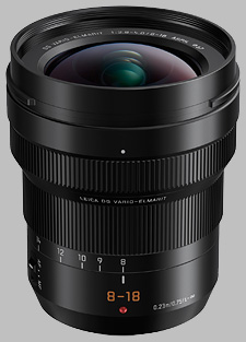 image of the Panasonic 8-18mm f/2.8-4 ASPH LEICA DG VARIO-ELMARIT lens