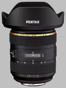 image of the Pentax 11-18mm f/2.8 ED DC AW HD DA* lens