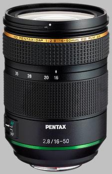 image of the Pentax 16-50mm f/2.8 ED PLM AW HD DA* lens