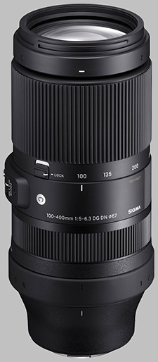 image of the Sigma 100-400mm f/5-6.3 DG DN OS Contemporary lens
