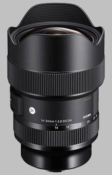 image of the Sigma 14-24mm f/2.8 DG DN Art lens