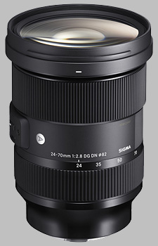 image of the Sigma 24-70mm f/2.8 DG DN Art lens