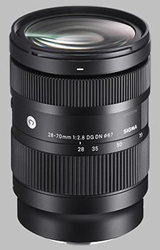 image of the Sigma 28-70mm f/2.8 DG DN Contemporary lens