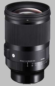 image of the Sigma 35mm f/1.2 DG DN Art lens