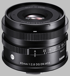 image of the Sigma 45mm f/2.8 DG DN Contemporary lens