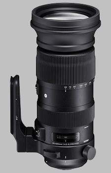 image of the Sigma 60-600mm f/4.5-6.3 DG OS HSM Sports lens