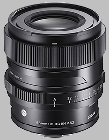 image of the Sigma 65mm f/2 DG DN Contemporary lens