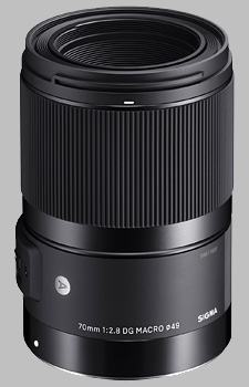 image of the Sigma 70mm f/2.8 DG Macro Art lens