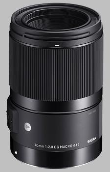 image of the Sigma 70mm f/2.8 DG Macro Art lens