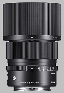 image of the Sigma 90mm f/2.8 DG DN Contemporary lens