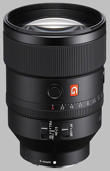 image of the Sony FE 135mm f/1.8 GM SEL135F18GM lens