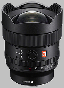 image of the Sony FE 14mm f/1.8 GM SEL14F18GM lens