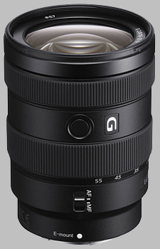 image of the Sony E 16-55mm f/2.8 G SEL1655G lens