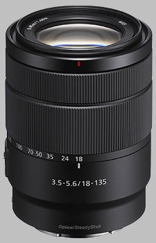 image of the Sony E 18-135mm f/3.5-5.6 OSS SEL18135 lens