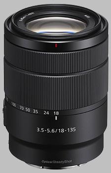 image of the Sony E 18-135mm f/3.5-5.6 OSS SEL18135 lens
