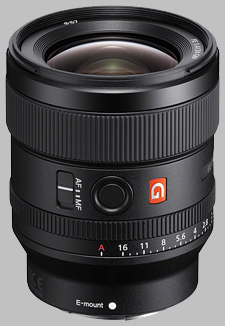 image of the Sony FE 24mm f/1.4 GM SEL24F14GM lens