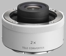 image of Sony 2X SEL20TC