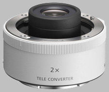 image of the Sony 2X SEL20TC lens