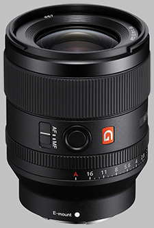 image of the Sony FE 35mm f/1.4 GM SEL35F14GM lens