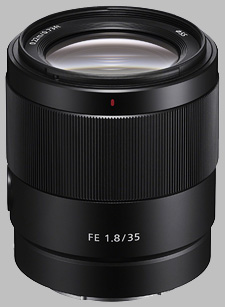 image of the Sony FE 35mm f/1.8 SEL35F18F lens