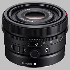 image of the Sony FE 50mm f/2.5 G SEL50F25G lens