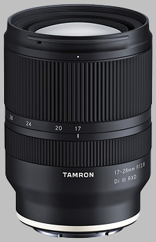 image of the Tamron 17-28mm f/2.8 Di III RXD lens
