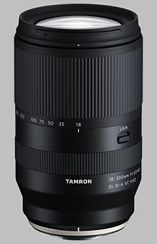 image of the Tamron 18-300mm f/3.5-6.3 VC VXD (Model B061) lens