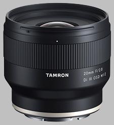 image of the Tamron 20mm f/2.8 Di III OSD M1:2 lens