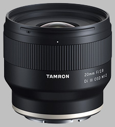 image of the Tamron 20mm f/2.8 Di III OSD M1:2 lens