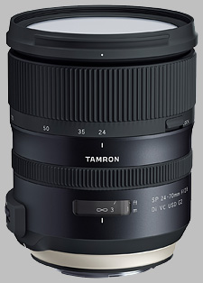 image of the Tamron 24-70mm f/2.8 Di VC USD G2 SP lens