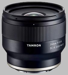 image of the Tamron 24mm f/2.8 Di III OSD M1:2 lens