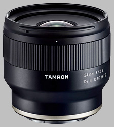 image of the Tamron 24mm f/2.8 Di III OSD M1:2 lens
