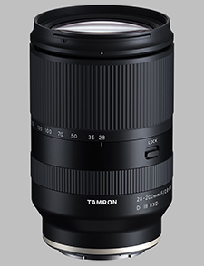 image of the Tamron 28-200mm F/2.8-5.6 Di III RXD lens