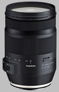image of the Tamron 35-150mm f/2.8-4 Di VC OSD lens