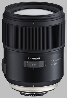 image of the Tamron 35mm f/1.4 Di USD SP lens