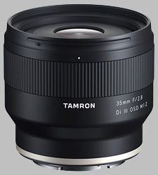 image of the Tamron 35mm f/2.8 Di III OSD M1:2 lens