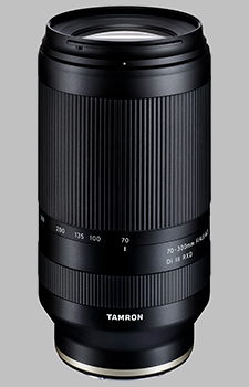 image of the Tamron 70-300mm F/4.5-6.3 Di III RXD (Model A047) lens