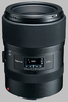 image of the Tokina 100mm f/2.8 ATX-i FF Macro lens