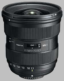 image of the Tokina 11-16mm f/2.8 ATX-i CF lens