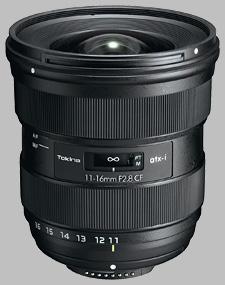 image of the Tokina 11-16mm f/2.8 ATX-i CF lens