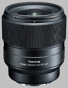 image of the Tokina 20mm f/2 FE AF FiRIN lens