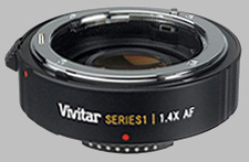 image of the Vivitar 1.4X Series 1 AF lens