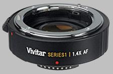 image of the Vivitar 1.4X Series 1 AF lens