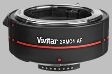 image of the Vivitar 2X Series 1 MC4 AF lens