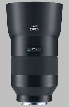 image of the Zeiss 135mm f/2.8 Batis 2.8/135 lens