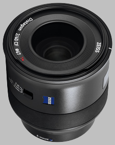 image of the Zeiss 40mm f/2 Batis 2/40 CF lens