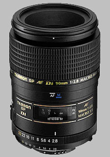 image of the Tamron 90mm f/2.8 Di Macro 1:1 SP AF lens