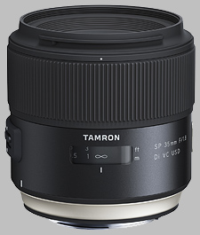 image of the Tamron 35mm f/1.8 Di VC USD SP lens