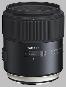 image of the Tamron 45mm f/1.8 Di VC USD SP lens