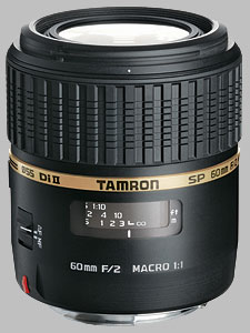 image of the Tamron 60mm f/2 Di II LD IF Macro 1:1 SP AF lens